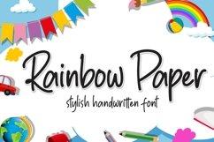 Rainbow Paper Product Image 1