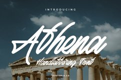 Athena Script Font Product Image 1