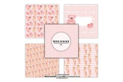Pink Dreams Baby Girl Paper Pack Fashion Illustration Product Image 4