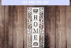 Home SVG Cut File, Housewarming Sign Designs, DXF EPS PNG Product Image 3