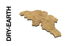 BELGIUM 3D Maps Images Dry Earth Snow Grass Terrain Sand Product Image 2