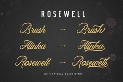 Rosewell Font Collection Product Image 6