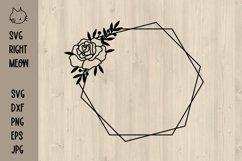Geometric Frames SVG Bundle, Floral frames SVG Product Image 3