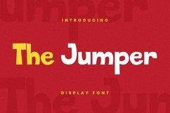 Web Font The Jumper Font Product Image 3