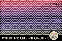 Watercolor Background Textures - Chevron Watercolor Papers Product Image 2