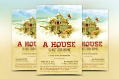 Our Home Church Flyer Template Product Image 2