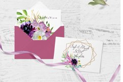 Wedding fowers Frame invites clipart Product Image 3