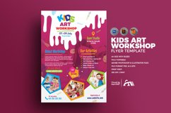 Kids Art Workshop Flyer Product Image 1