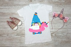 Sublimation Designs For T Shirts Summer Gnomes   Beach Gnome Product Image 3