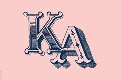 Antique Ornaments Alphabet Font Product Image 5