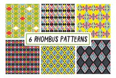 6 RHOMBUS PATTERNS Product Image 1
