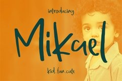 Mikael - Fancy Font Product Image 1