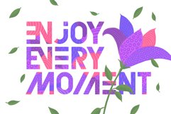 Florry font & illustrations Product Image 3