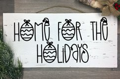 Holiday Sparkle - A Hand-Lettered Christmas Font Product Image 2