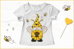 Gnome Bee, Summer Gnome, Sunflower Gnome Product Image 4