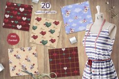 Romantic collection. Patterns. Backgrounds. Product Image 4