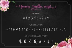 Forever Together - Romantic Font Duo Product Image 4