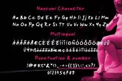 Web font - Noufumi - Rough Brush Font Product Image 6