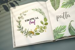 Watercolor & Gold Tropical Leaves Collection Product Image 7