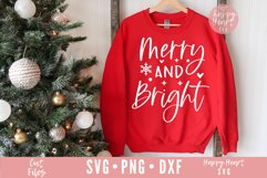 Merry And Bright SVG Product Image 1