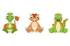 Cartoon Baby Dinosaurs Bundle Product Image 3
