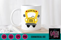 Whimsy Bus SVG, DXF, PNG, EPS Comm Product Image 1