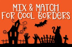 Spooky Squad - A Halloween Dingbat Font Product Image 4