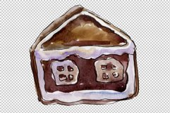 Christmas sweets watercolor png Product Image 3