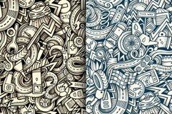 Automotive Graphics Doodle Patterns Product Image 4
