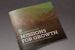 Missions for Growth Church Brochure Product Image 1