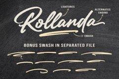 Rollanda - Textured Signature Font Product Image 3