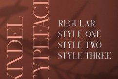 Kindel - Serif Typeface | 4 styles Product Image 2