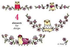 Pugs&Magnolias 29 elements Product Image 4