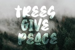 Strech Hands - Bold Brush Font Product Image 5