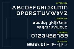 ALASKA Modern Font Product Image 2