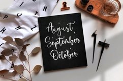 Sweetie Autumn Beautiful Calligraphy Font Product Image 2