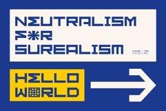 GR Fatient - Modern Cubical Typeface Product Image 2