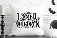 I Smell Children Gothic SVG | Halloween Witch Word Art Product Image 2
