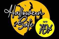 Halloween Monoline Product Image 4