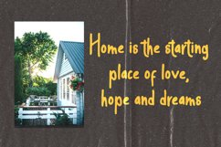 House Home - a sweet and friendly display font Product Image 5