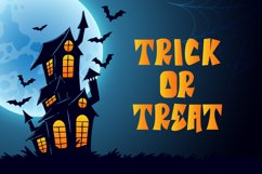 Tricky Monster - a Halloween Font Product Image 2