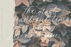 Miarlem - A Modern Calligraphy Font Product Image 2