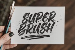 The Deliver - Urban Brush Font Product Image 6