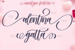 Agitta Afilia Lovely Script Font Product Image 2
