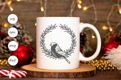 Bird wreath SVG Product Image 3