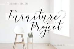 White Carley Modern Calligraphy Font Product Image 2