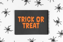 Bloodred / Spooky Halloween font Product Image 4