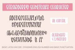 Strawberry Shortcake-A silly and relaxing font Product Image 2