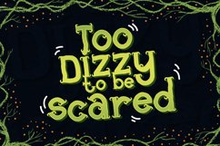 Root Scary Font Product Image 3