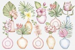 "Watercolor ClipArt ""Tropics Indoor Product Image 2"